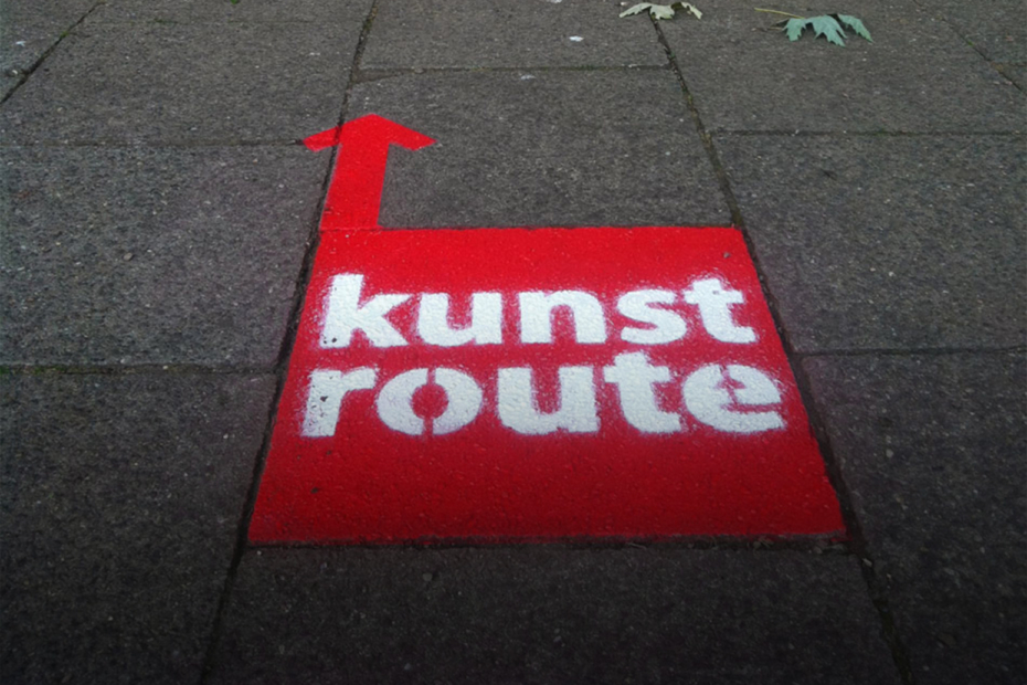 KUNSTROUTE-UITGELICHT